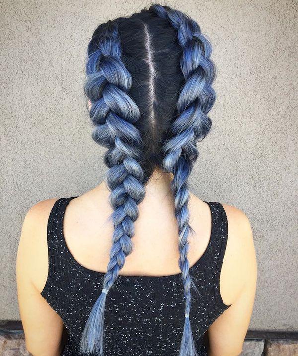 Haare blau frben 8