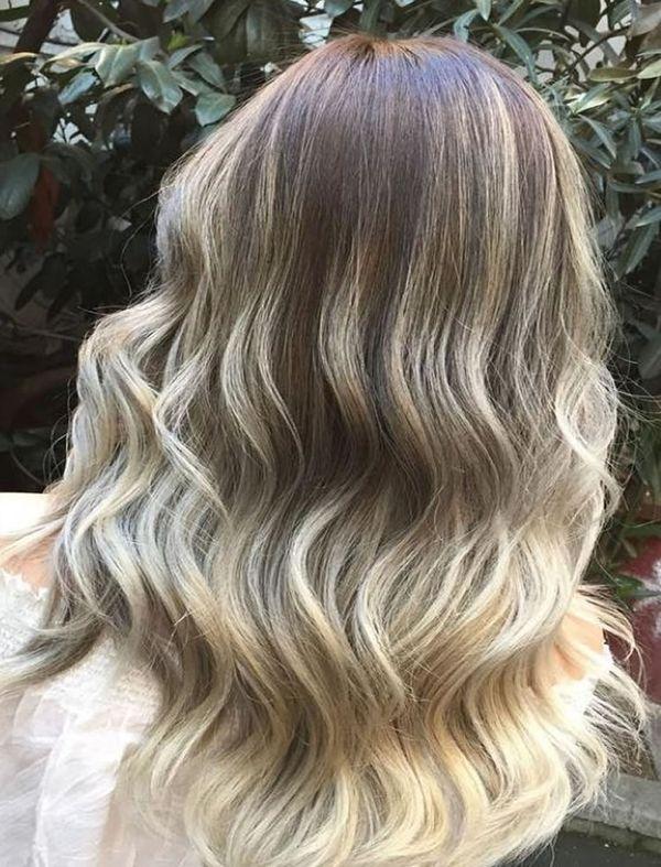 Haare in Ombre frben 1