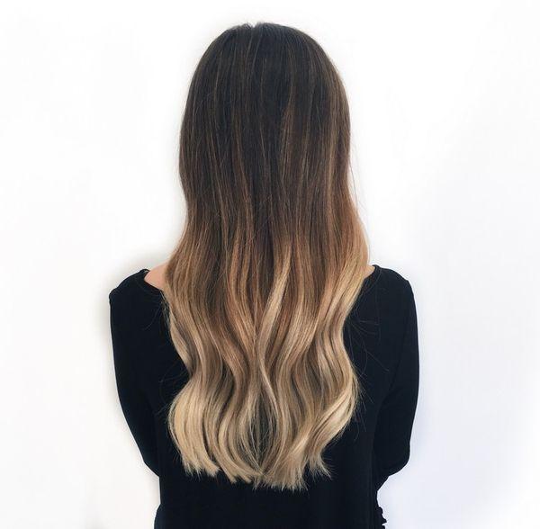 Haare in Ombre frben 4