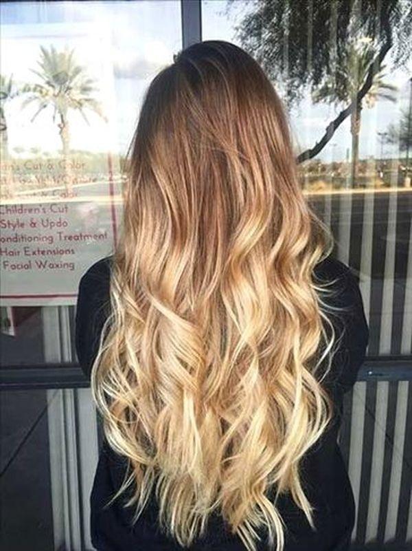 Haare in Ombre frben 5