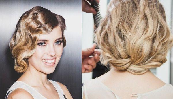 Haare stylen fr Frauen wie in den 20er Jahren 2