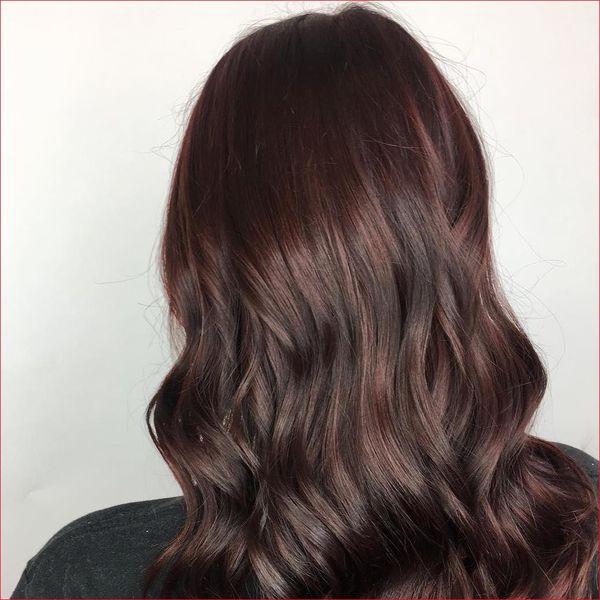 Haarfarbe Mahagoni Braun 4