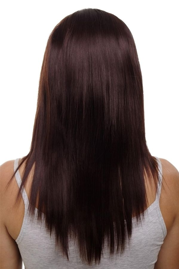 Haarfarbe Mahagoni Braun 6