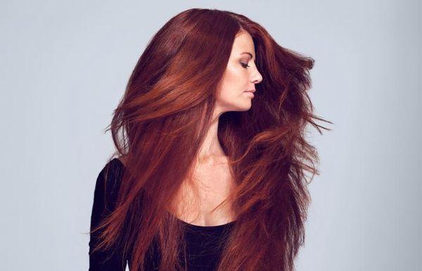 Haarfarbe Mahagoni Rot 2