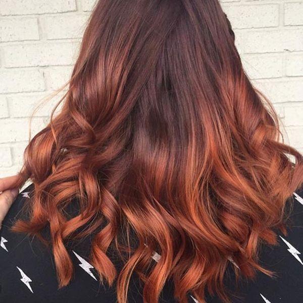 Haartrend Mahagoni Haare 1
