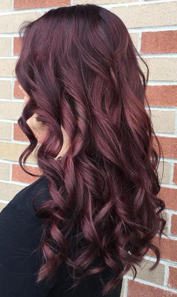 Haartrend Mahagoni Haare 3