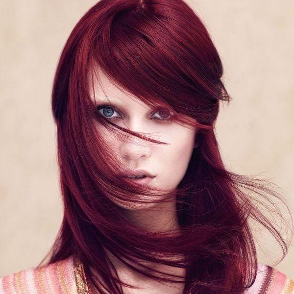 Haartrend Mahagoni Haare 4