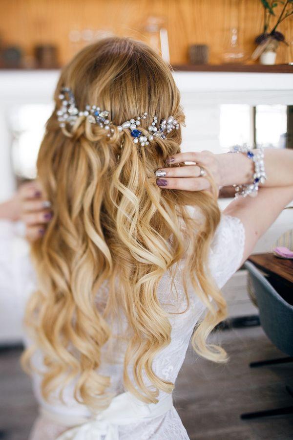 Halboffene Abiball Frisuren fr Lange Haare 2