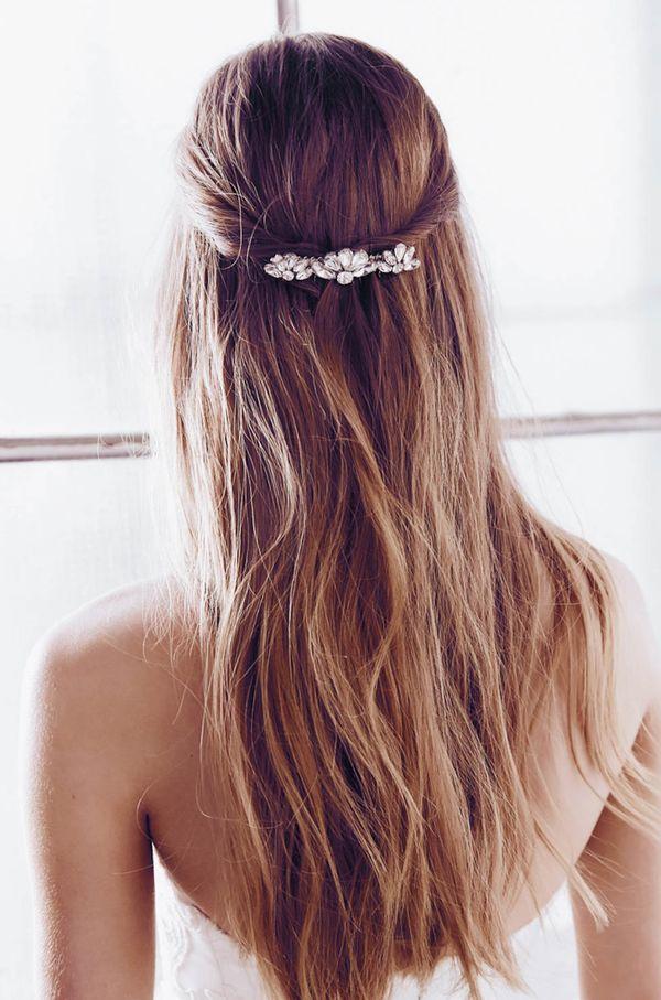 Halboffene Abiball Frisuren fr Lange Haare 4