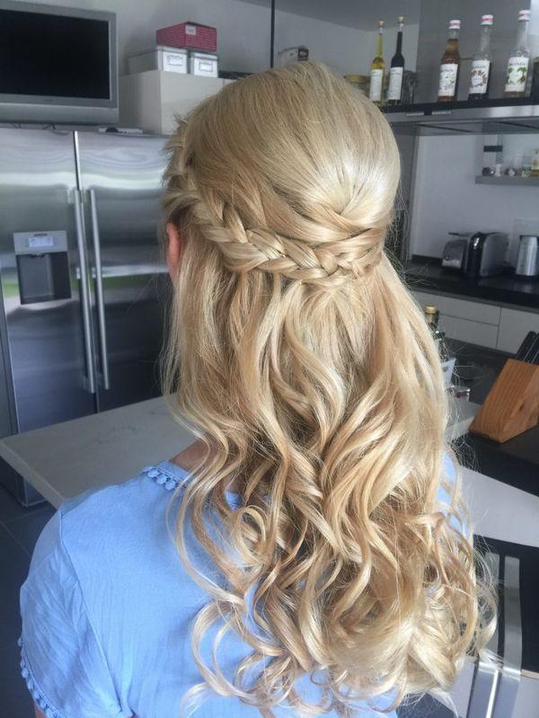 Halboffene Abiball Frisuren fr Lange Haare 5