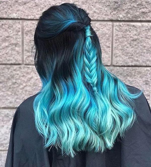 Ideen fr blaue Haare 1