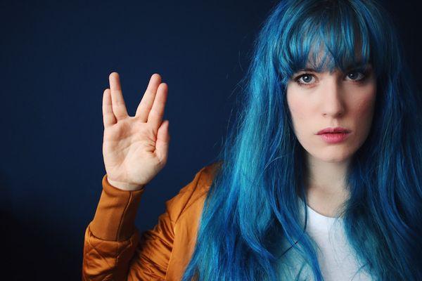 Ideen fr blaue Haare 2