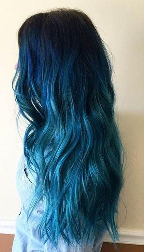 Ideen fr blaue Haare 3