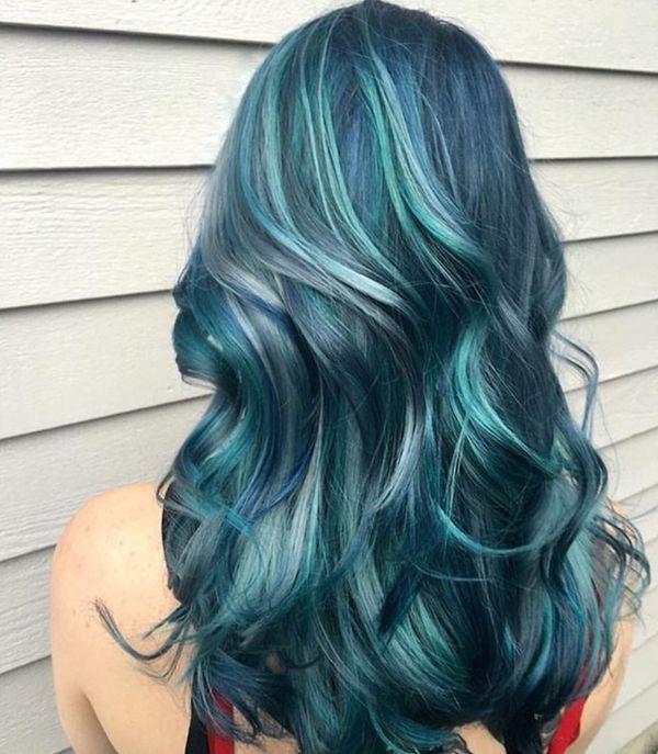Ideen fr blaue Haare 5
