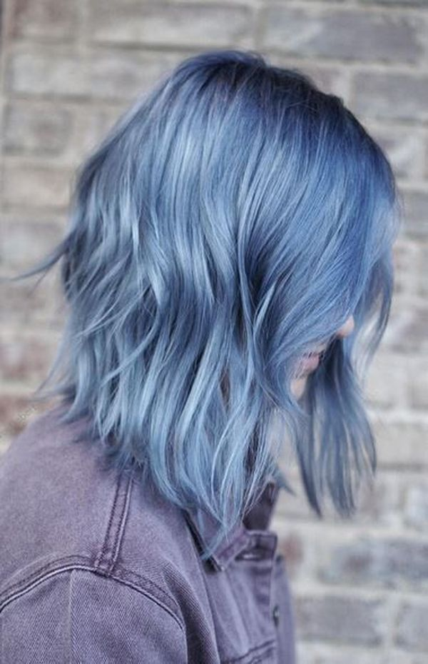 Ideen fr blaue Haare 6
