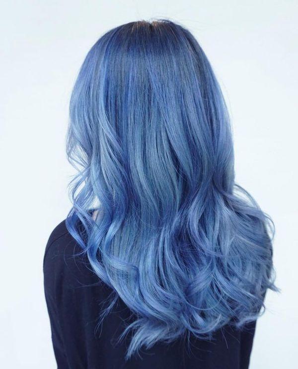 Ideen fr blaue Haare 8