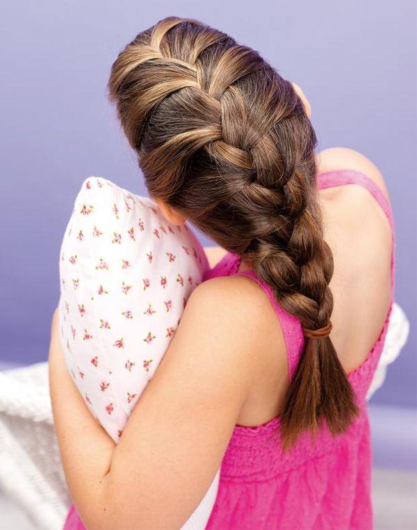 Ideen wie man Haare am Kopf schn flechten kann 2