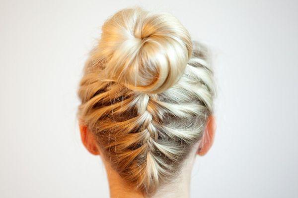 Ideen wie man Haare am Kopf schn flechten kann 5