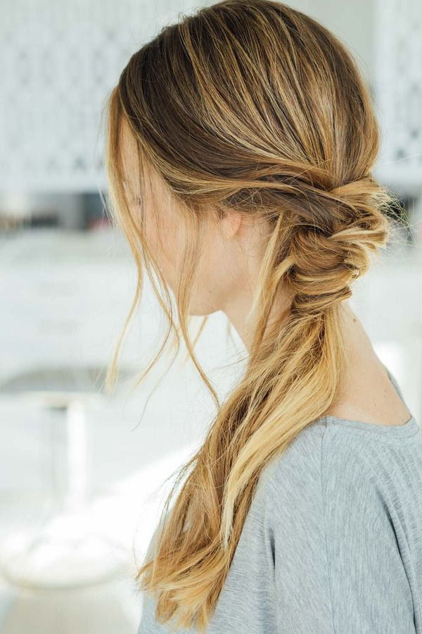 Ideen wie man lange Haare stylt 5