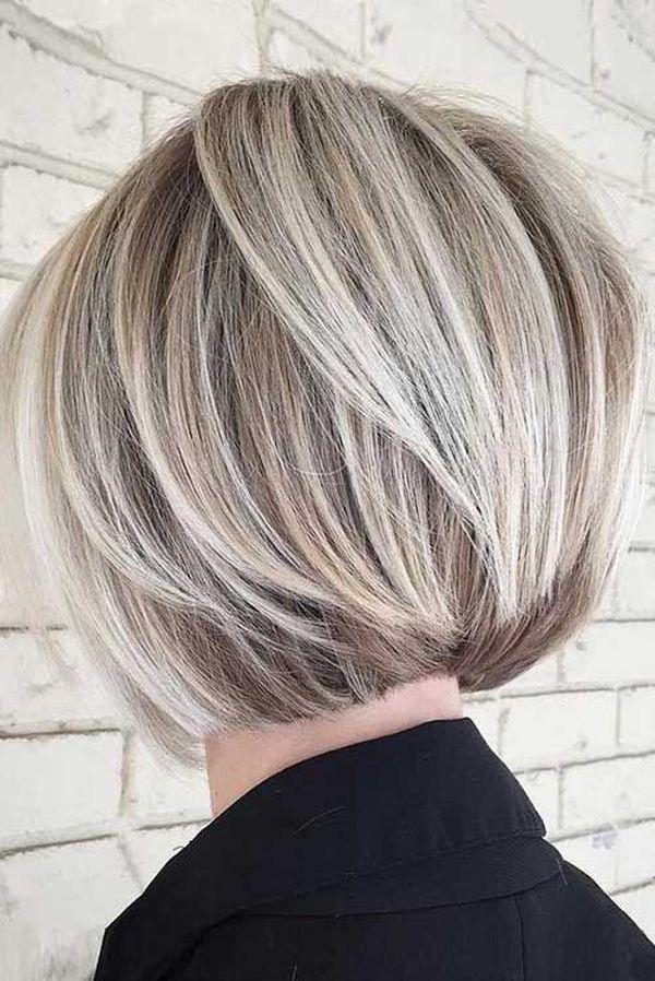Kurze Haare mit Balayage 4