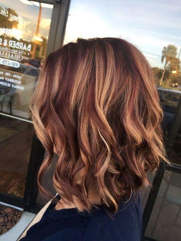 Kurze Haare mit braunblonden Strhnen 5