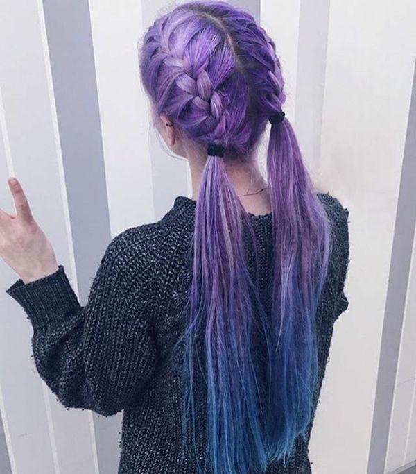 Lilablaue Haare fr deinen coolen Look 1