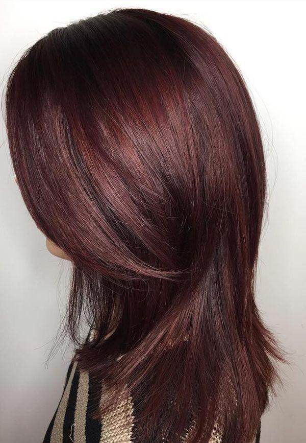 Mahagoni Rotbraune Haare 4