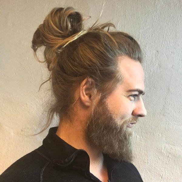 Moderne Mnnerfrisuren fr Lange Haare 1