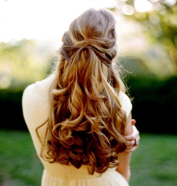 Offene Haarfrisuren fr lange Haare 3