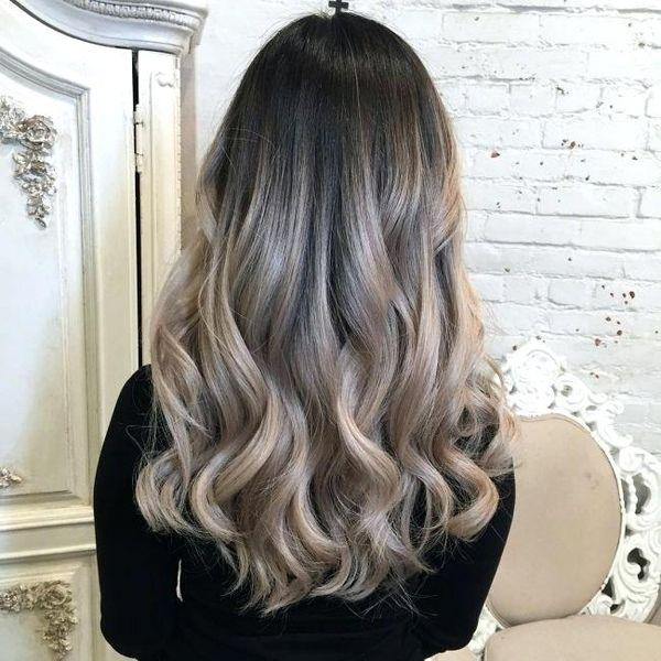 Trend der Mode Ombre Haarfarbe 6