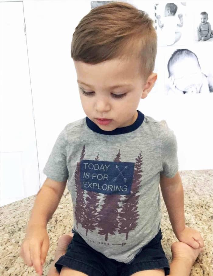 Die ordentliche Frisur für kleine Jungs
