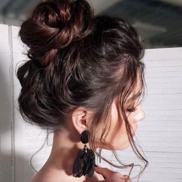 Die schönsten Messy Bun Frisuren mit Tutorial